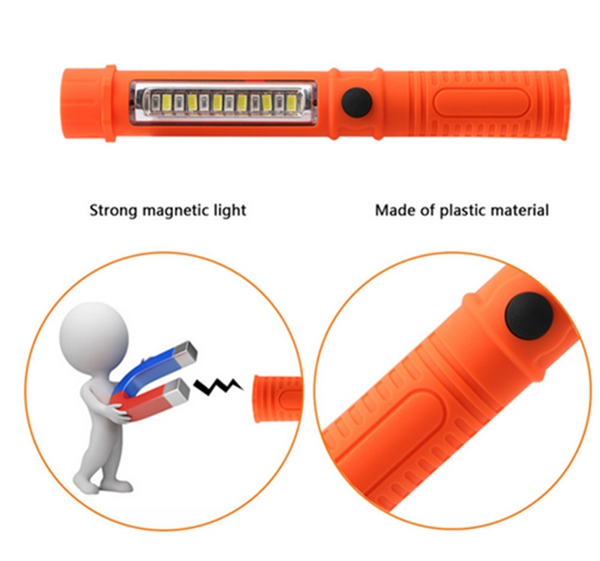 Magnetic Outdoor Flashlight